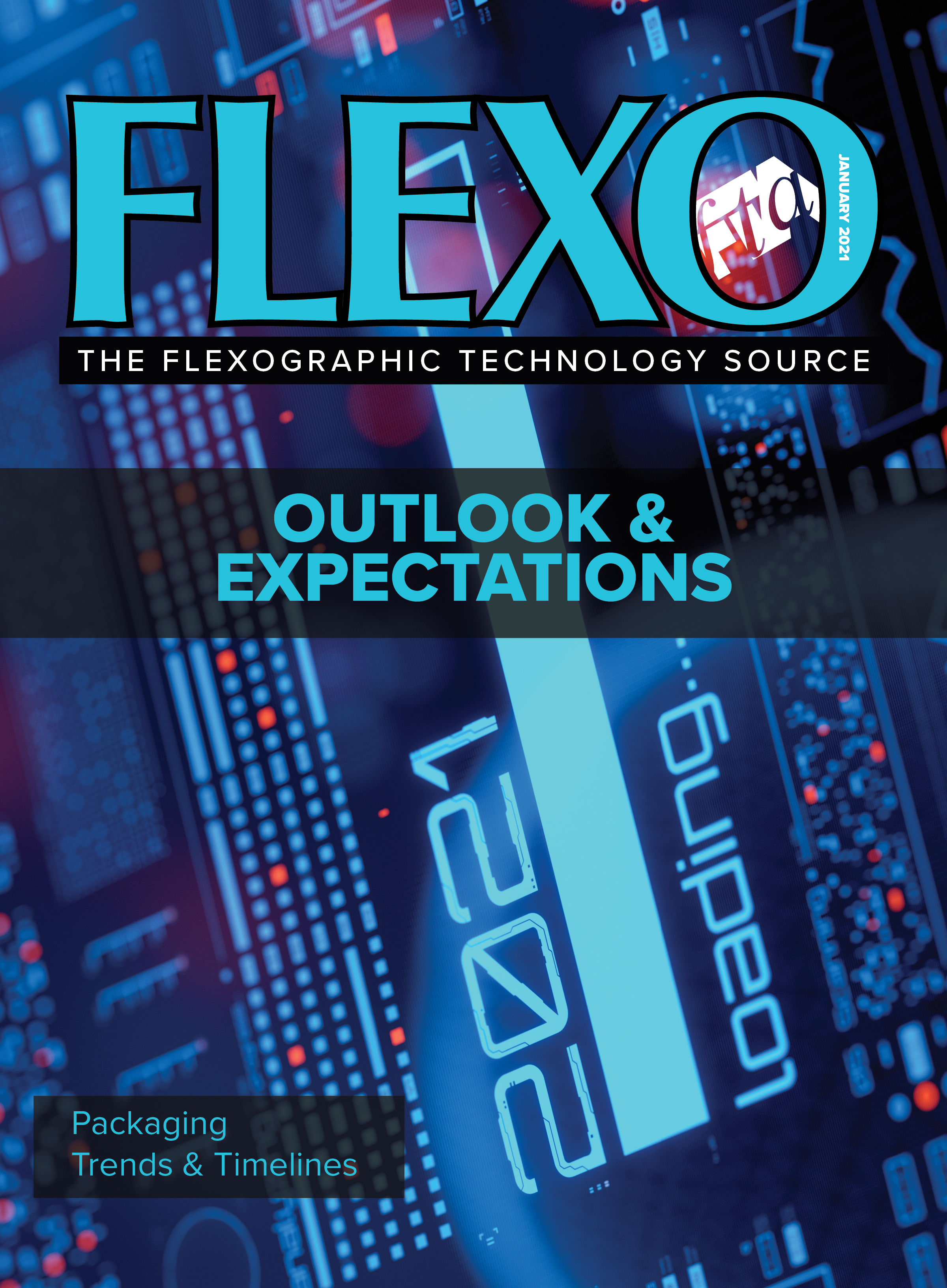 FLEXO Magazine January 2021 cover