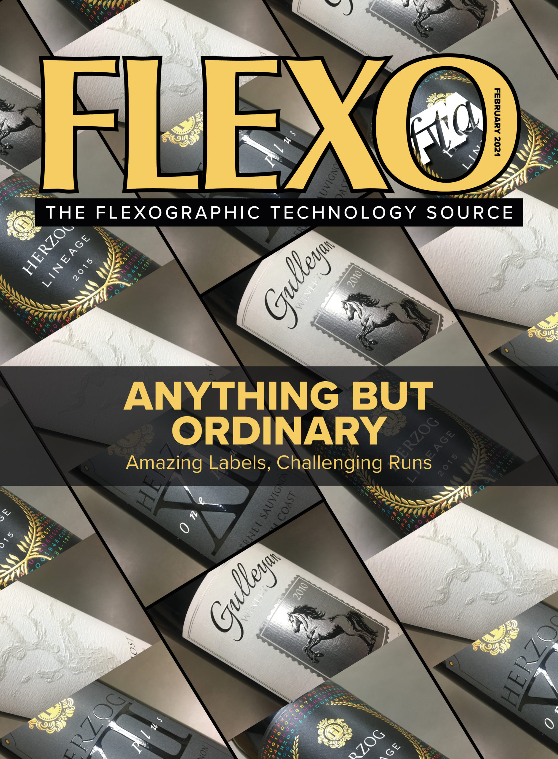 FLEXO Magazine February 2021 cover